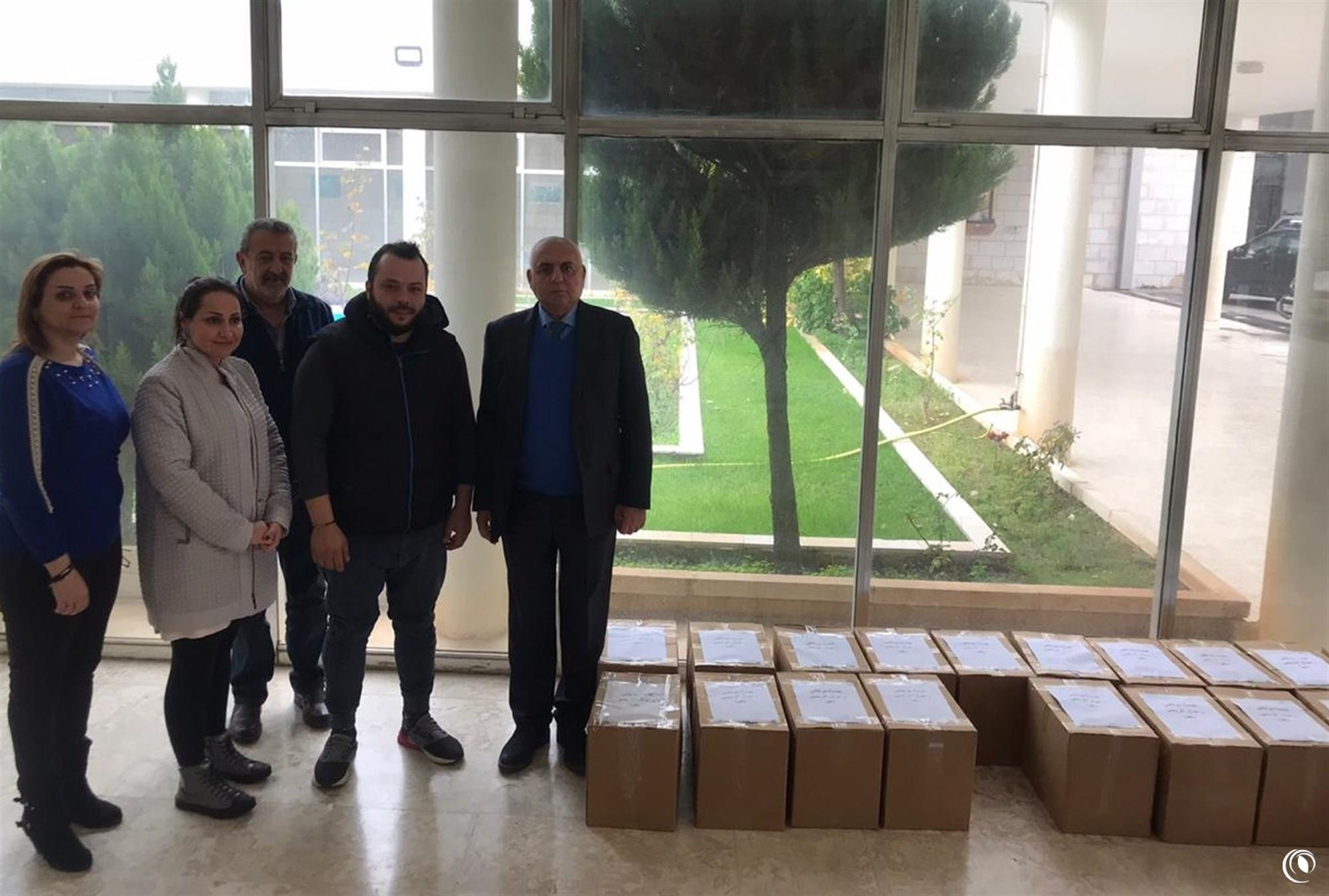 Bekfaya Department's Employees Donate Rations to Deserving Families