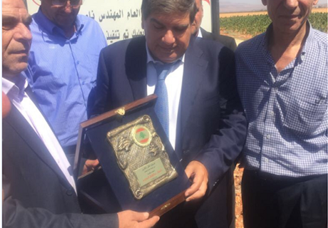 Eng. Seklaoui inspects developmental projects conducted by Regie in Bekaa