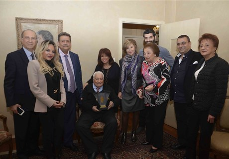 Regie honors former 96-year-old employee, Elie Maalouf