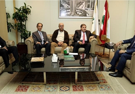 Major General Abbas Ibrahim receives delegation from Regie