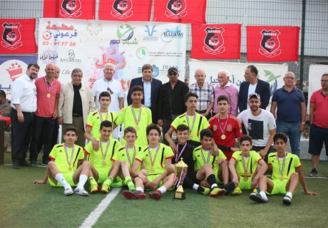 Tyre municipality ends football tournament under patronage of Eng. Seklaoui