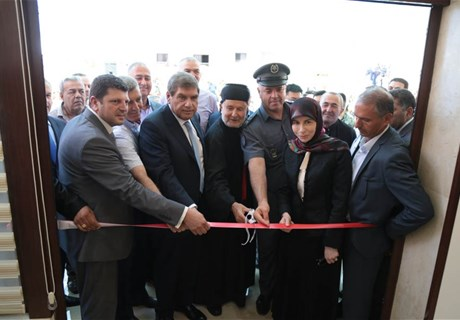 Engineer Seklaoui inaugurates church hall in Dibil