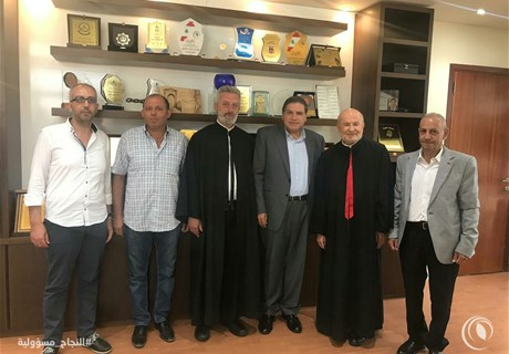 Eng. Seklaoui receives Archbishop El-Hage, a delegation from Dibil and another from Al-Kawzah