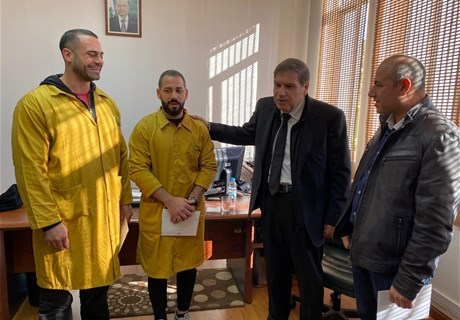 Eng. Seklaoui visits Regie Foundation in Batroun, passes on recommendations to experts