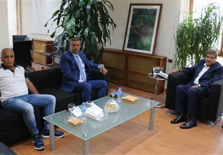 Engineer Sekaloui receives MP Hany Koubeisi
