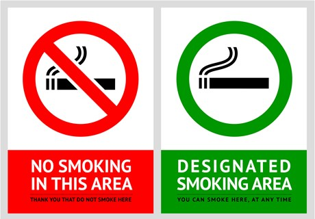 The Law Banning Smoking in Selected Areas
