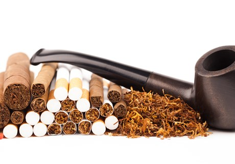 The weekly shares and prices for tobacco products